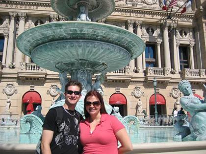 Outside The Venetian