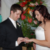 Placing the Ring on Amy's Finger