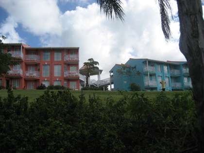More of the resorts buildings